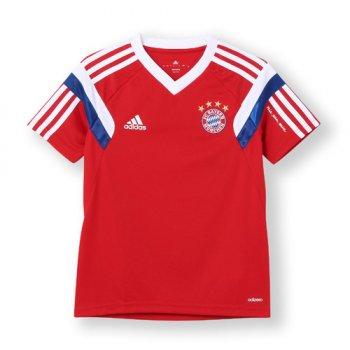 Adidas FC Bayern 14/15 Training Jersey PK/BK/WHT KIDS F49542