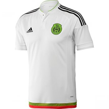 Adidas National Team 2015 Mexico (A) S/S (WHT/BK/GN/RD) M36019