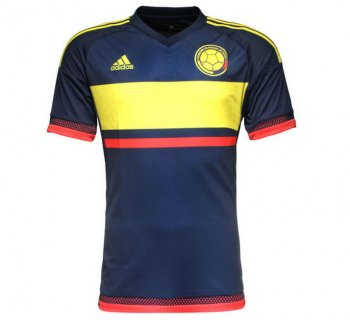 Adidas National Team 2015 Colombia (A) S/S (Navy/Yellow/)  M62761