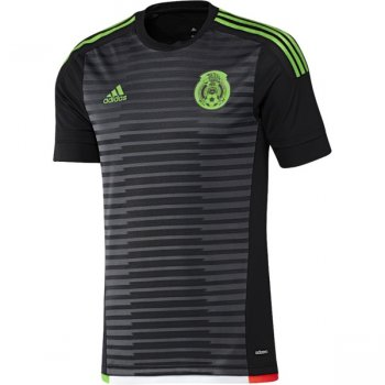 Adidas National Team 2015 Mexico (H)  S/S (BK/GY/GN/RD) M36002