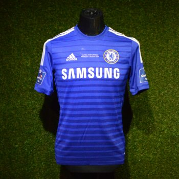 Adidas Chelsea Capital One Cup Final w/Player Name & No# Badge 14/15 (H) S/S G92151