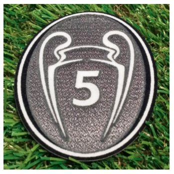 UEFA Champions League Trophy 5 Ver. Badge