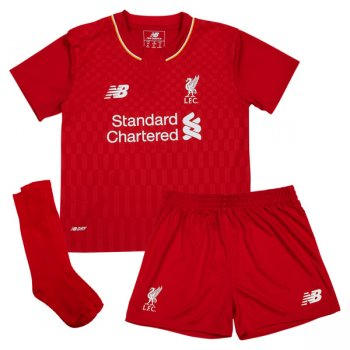New Balance Liverpool 15/16 (H) S/S Mini Set WSTI500