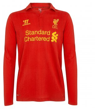 Warrior Liverpool 12/13 (H) L/S WSTM201