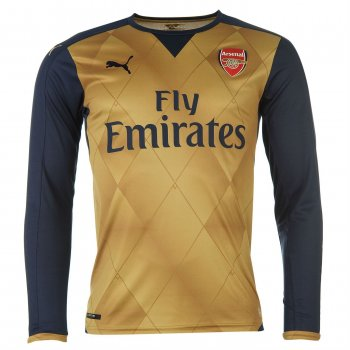 Puma Arsenal 15/16 (A) L/S With Club Nameset 747569-08