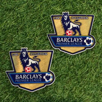2014/2015 BPL Champions Badge (Chelsea) 2PCS