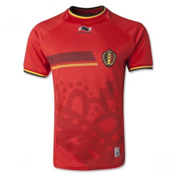 Burrda National Team 2014 World Cup Belgium (H) S/S With Nameset 14BG001RM-997