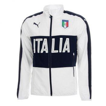 Puma National Team 2016 FIGC Italia Woven Jacket WHT 749394-03