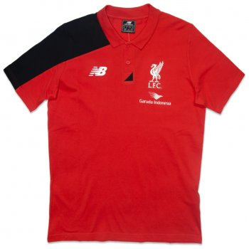 New Balance Liverpool 15/16 Polo WSTM556RD