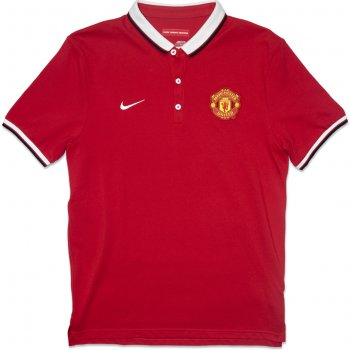 Nike Manchester United 14/15 Authentic Polo (RED) 607649-625