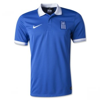 Nike National Team 2014 World Cup Greece (A) S/S Player Jersey 647739-463