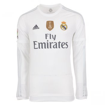 Adidas Real Madrid 15/16 (H) L/S AK2495