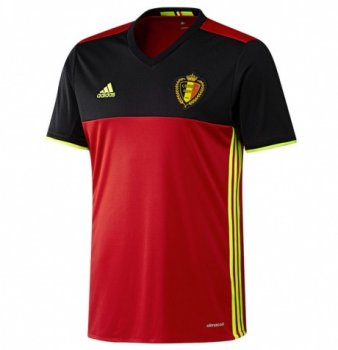 Adidas National Team 2016 Belgium (H) Kids Jersey AA8743