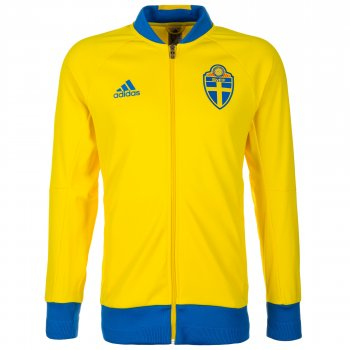 Adidas National Team 2016 Sweden Anthem Jacket AI4509