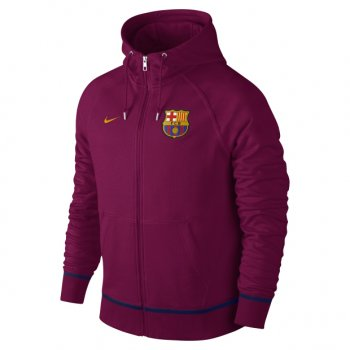 Nike FC Barcelona 16/17 Authentic AW77 Full-Zip Hoodie 689928-560
