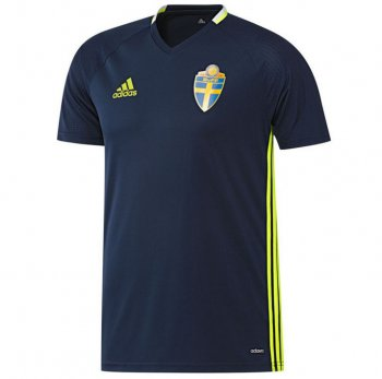 Adidas National Team 2016 Sweden Training Jersey AC3905