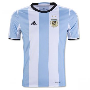 Adidas National Team Euro 2016 Argentina (H) S/S Kids Jersey AK0049