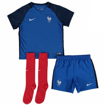 Nike National Team 2016 France (H) Little Boys Kit 724579-439