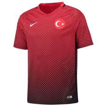 Nike National Team Euro 2016 Turkey (H) S/S Jersey 724638-010