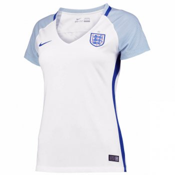 Nike National Team Euro 2016 England (H) S/S Womens Jersey 724668-100