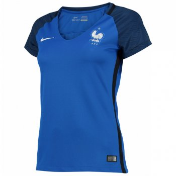Nike National Team Euro 2016 France (H) S/S Womens Jersey 724672-439