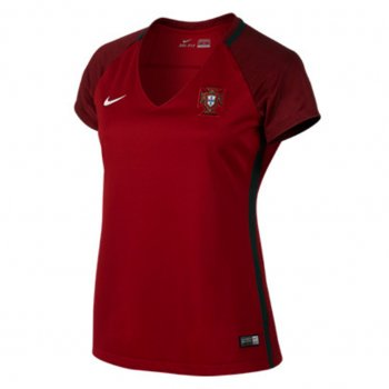 Nike National Team Euro 2016 Portugal (H) S/S Womens Jersey 724676-687