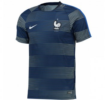 Nike National Team 2016 France Flash Pre-Match Jersey 725396-421