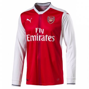 Puma Arsenal 16/17 (H) L/S With Club Nameset 749713-01
