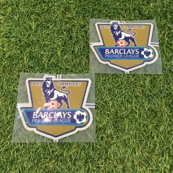 2006/07 BPL Champions Badge (Manchester United) 2PCS