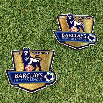 2011/12 BPL Champions Badge (Manchester City) 2PCS