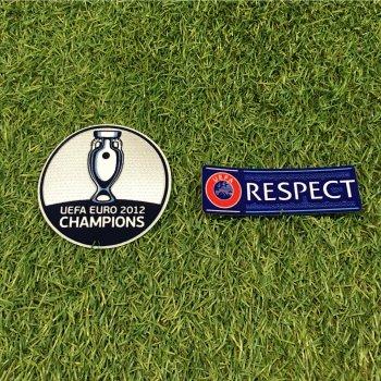 UEFA EURO 2016 Champion Badge (Spain 2012 Title)