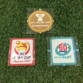 Asian Cup 2015 Champion Badge Set (Japan)
