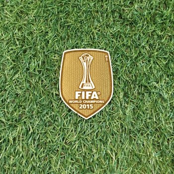 FIFA Club World Cup 2015 Champion Badge (FC Barcelona)