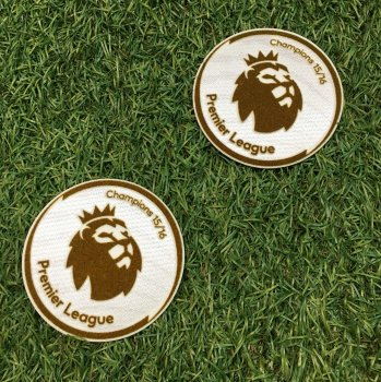 BPL 15/16 Champions Badge (Leicester City 15/16 Champion) 2PCS
