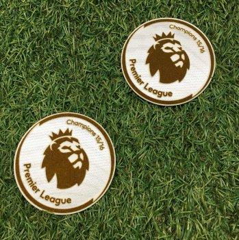 BPL 15/16 Champions Badge (Leicester City 15/16 Champion) 2PCS