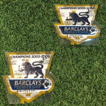2005/06 BPL Champions Badge (Chelsea) 2PCS