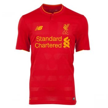 New Balance Liverpool 16/17 (H) S/S Kids JT630001
