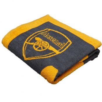 Puma Arsenal 16/17 Towel ebony-spectra yellow 746597-03