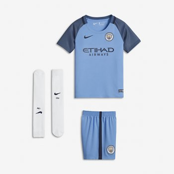 Nike Manchester City 16/17 (H) Mini Kit BLU 776743-489