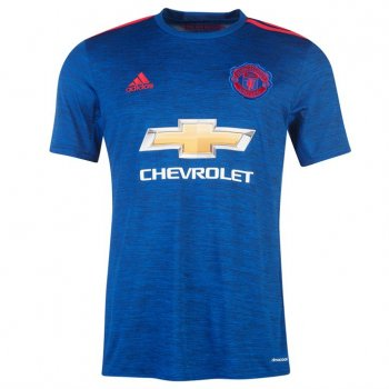 Adidas Manchester United 16/17 (A) S/S Jersey Youth BLU AI6701