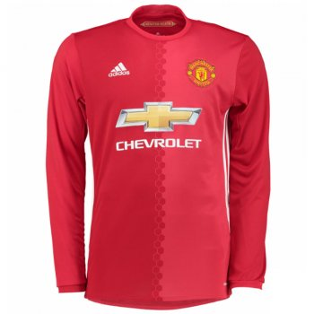 Adidas Manchester United 16/17 (H) L/S Junior Jersey AI6715