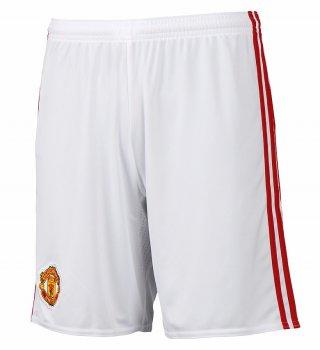 Adidas Manchester United 16/17 (H) Shorts WHT AI6714