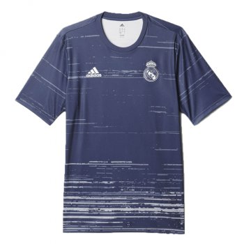Adidas Real Madrid 16/17 (H) Pre-Shirt BLU AZ3888