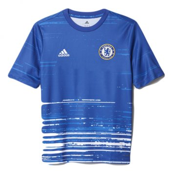 Adidas Chelsea 16/17 (H) Pre-Shirt Youth BLUE AX7014