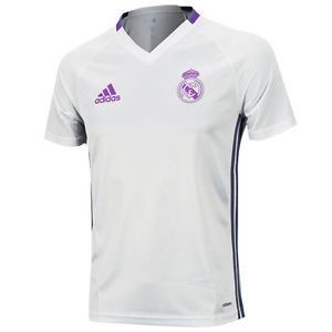 Adidas Real Madrid 16/17 Training Jersey WHT AO3119