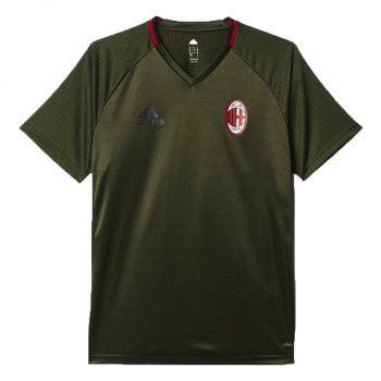 Adidas AC Milan 16/17 Training Jersey Dark Green AO0363
