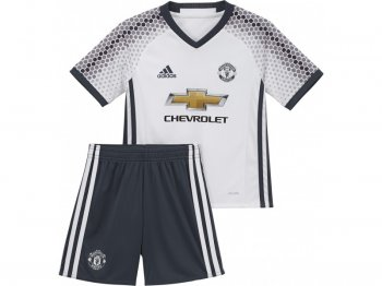 Adidas Manchester United 16/17 (3RD) Mini Kit WHT AI6682