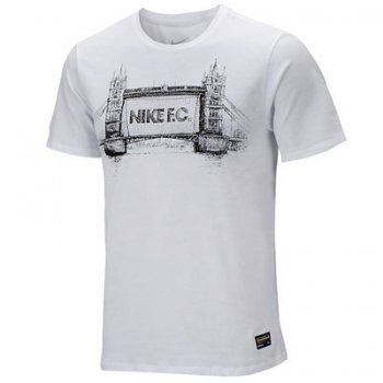 Nike FC Tower Glory Tee White 687987-100