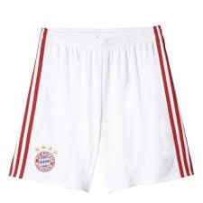 Adidas FC Bayern 16/17 (H) Shorts WHT AI0058