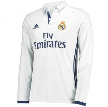 Adidas Real Madrid 16/17 (H) L/S WHT AI5184
